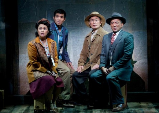 Allegiance starring George Takei at the Old Globe Theater