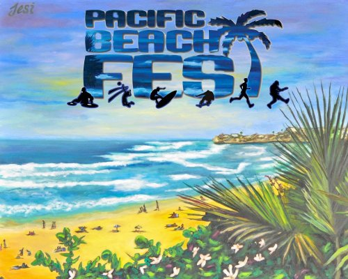 Pacific Beachfest Logo