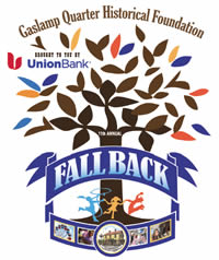 Fall Back Gaslamp Quarter Logo