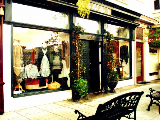 Le Bel Age Boutique Storefront