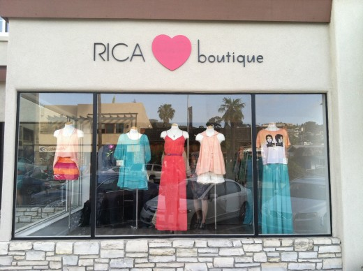 RICA Boutique Storefront