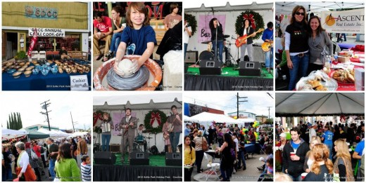 SoNo Park Holiday Fest & Chilipalooza Collage