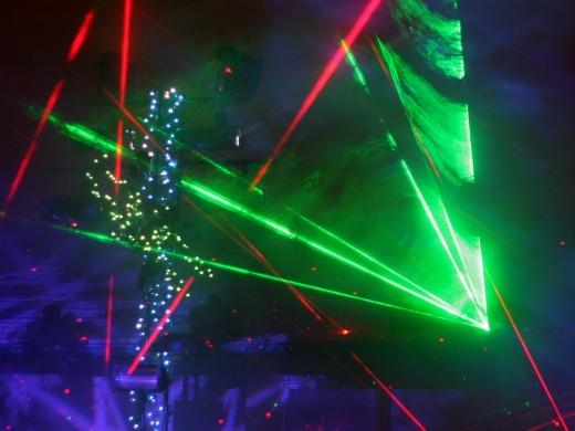 Curtis Muller's Bright Christmas Light Display