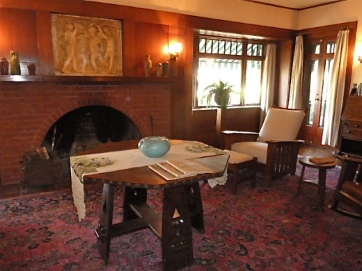 Table by the Fire - Marston House