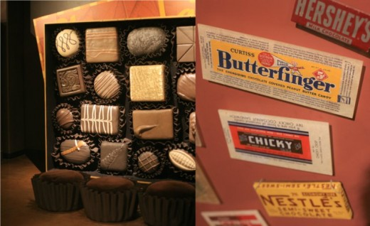 Chocolate exhibition at the San Diego Natural History Museum