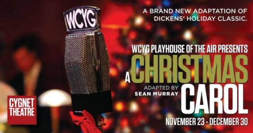 Christmas Carol Flyer - Cygnet Theater