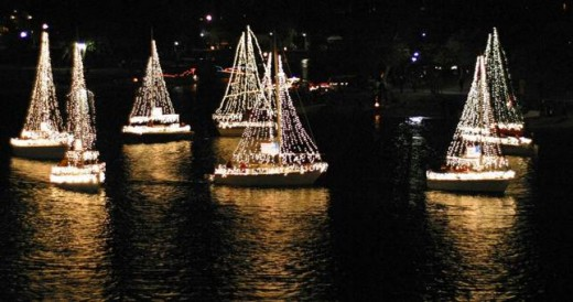 mission bay parade of lights - Best Christmas Lights In San Diego