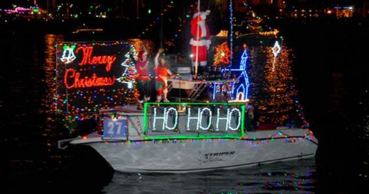 Holiday Float - San Diego Bay Parade of Lights