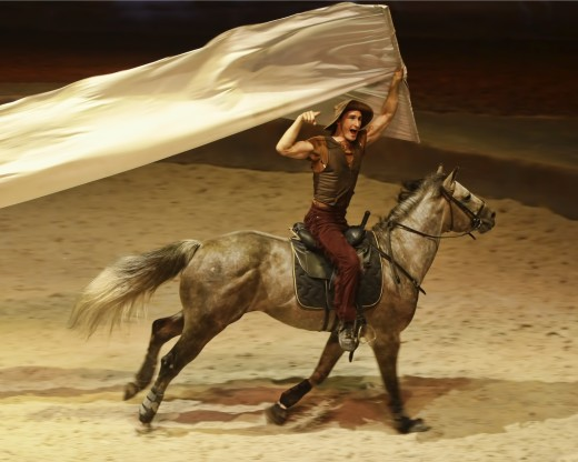 Banner Man - Cavalia
