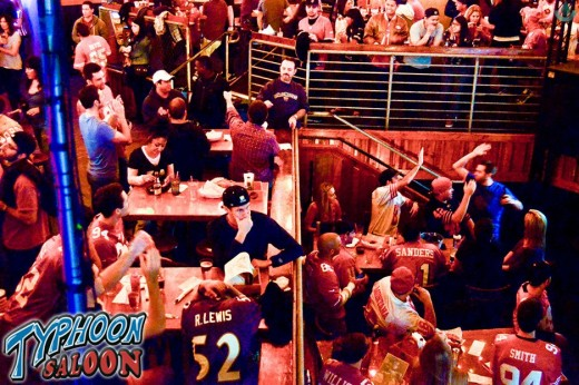 Typhoon Saloon, a San Francisco 49er's Bar