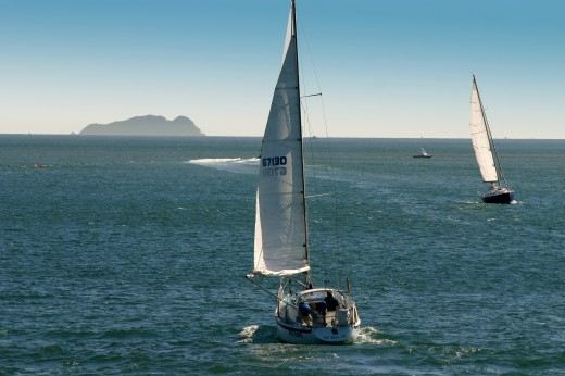 Enjoy the fresh air and clear skies sailing Coronado Bay.