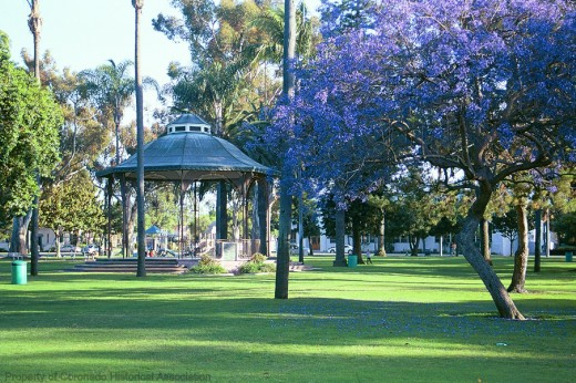 Gazebo at Spreckels Park - Coronado