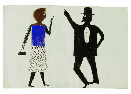 Bill Traylor - 1982 - Mingei Museum