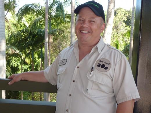 San Diego Zoo herpetologist Ken Morgan