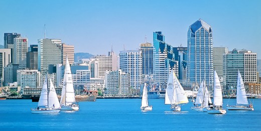 Sailing San Diego Bay