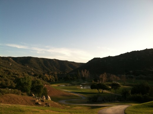 Sycuan Golf & Tennis Resort - Willow Glen, Hole 4, Par 4