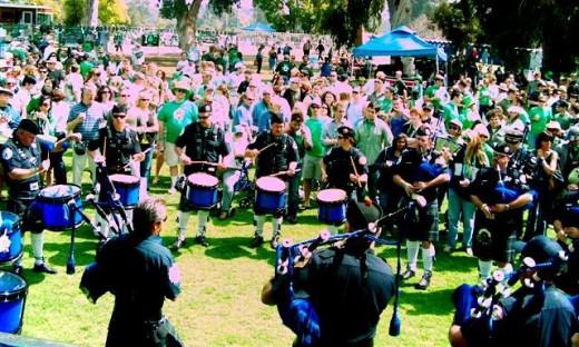 St. Patrick's Day Festival in Balboa Park