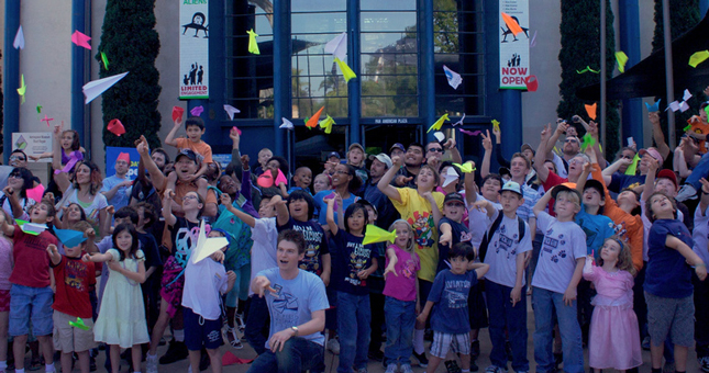 Balboa Park Science Family Day - Paper Airplane Festival