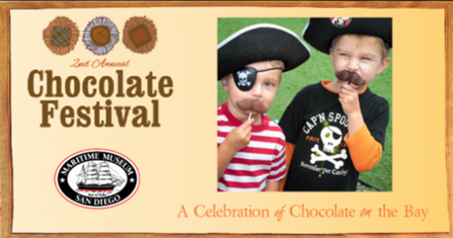 2nd Annual Chocolate Festival at the Maritime Museum of San Diego - Top Things to Do in San Diego