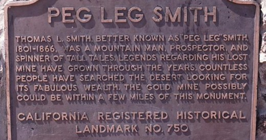 Peg Leg Smith Plaque - Top Things to Do in San Diego