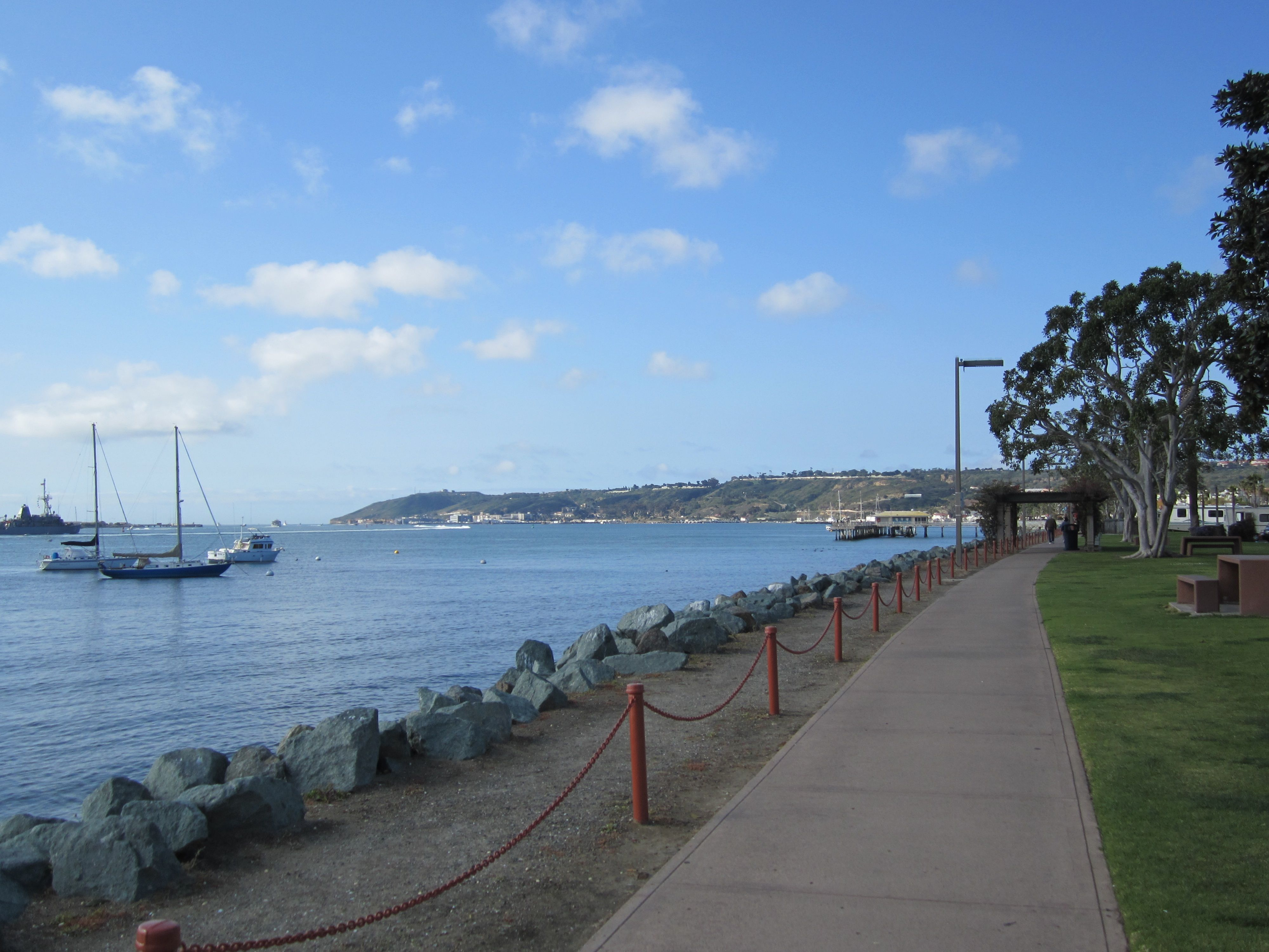 Shelter Island - Scenic San Diego Walks