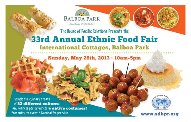 33rd Annual Ethnic Food Fair - Top Things to Do in San Diego
