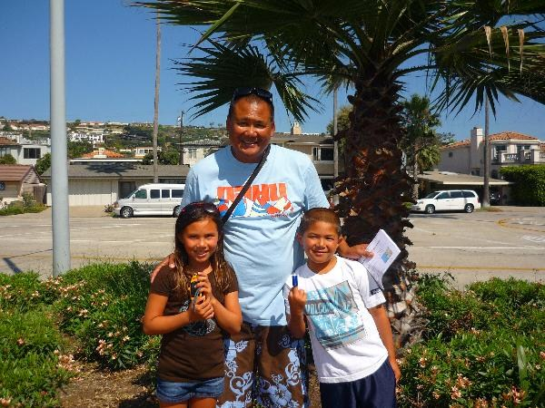 Family Geocaching in La Jolla Shores