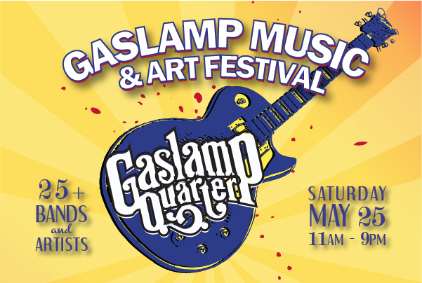 2nd Annual Gaslamp Music & Arts Festival - Top Things to Do in San Diego