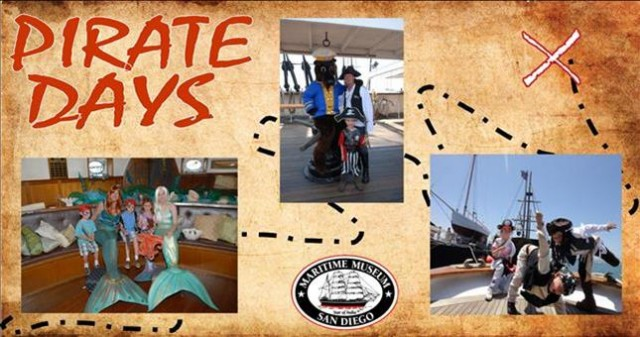 Pirate Days at the Maritime Museum of San Diego