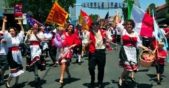 Sicilian Festival in Little Italy