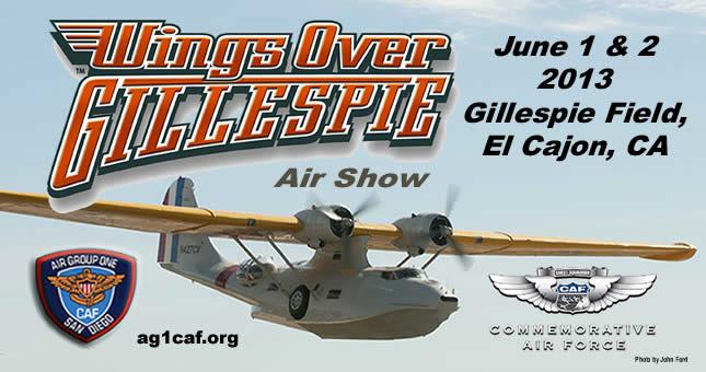 Wings over Gillespie Air Show 2013 - Top Things to Do in San Diego