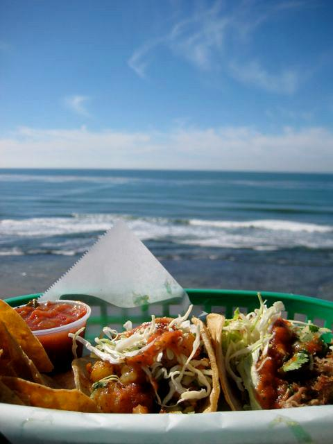 The view of San Elijo from Bull Taco