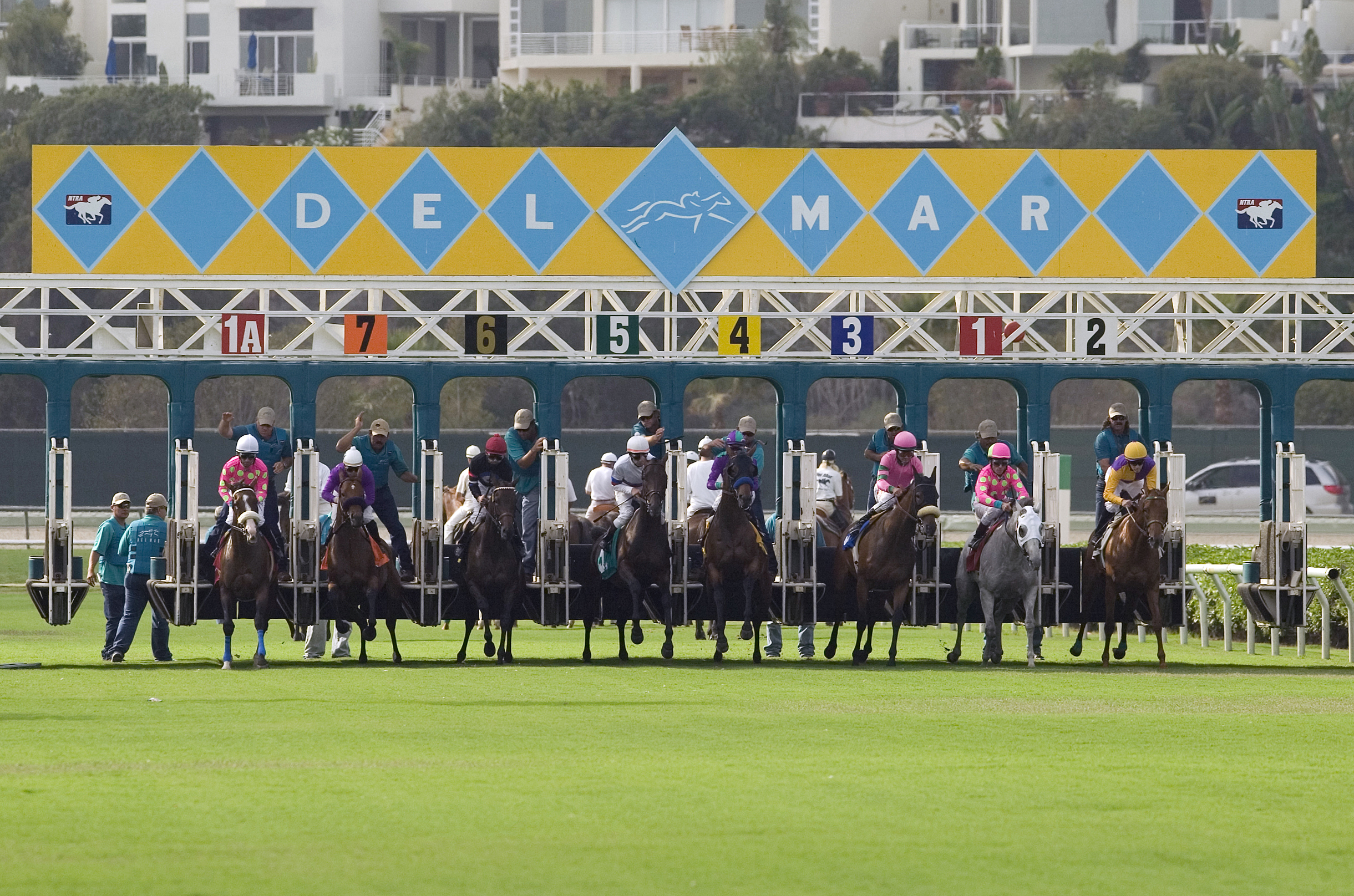 First post at the Del Mar Racetracks is July 17, 2013 at 2:00 pm.