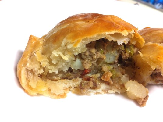 Savory Empanada at Maye's Desserts & Bistro. Photo courtesy of Yelper Misty W.