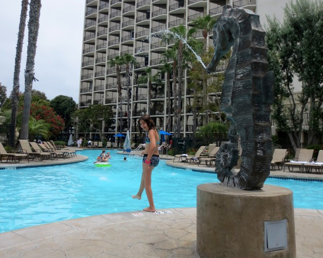 Escape the summer heat with a dip in the sheraton san diego hotel