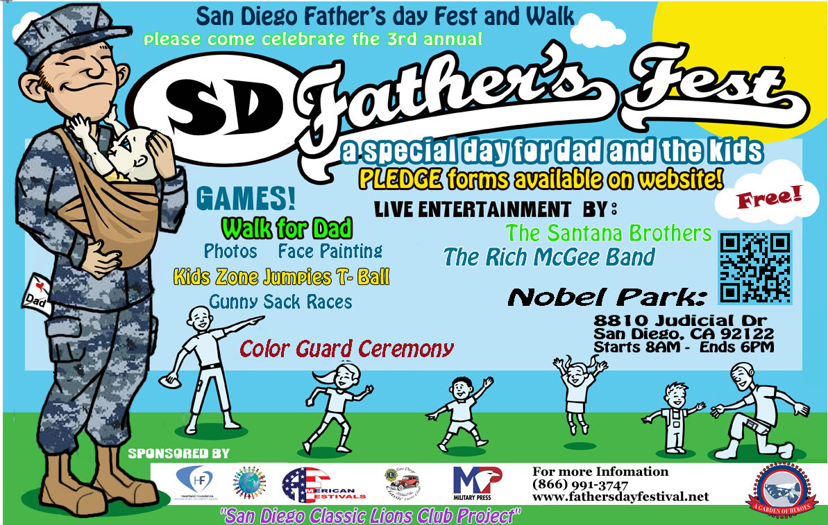 San Diego Father's Day Fest and Walk