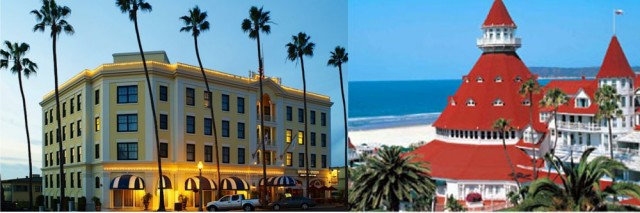 The Grande Colonial Hotel in La Jolla and the famous Hotel del Coronado celebrating anniversaries in 2013