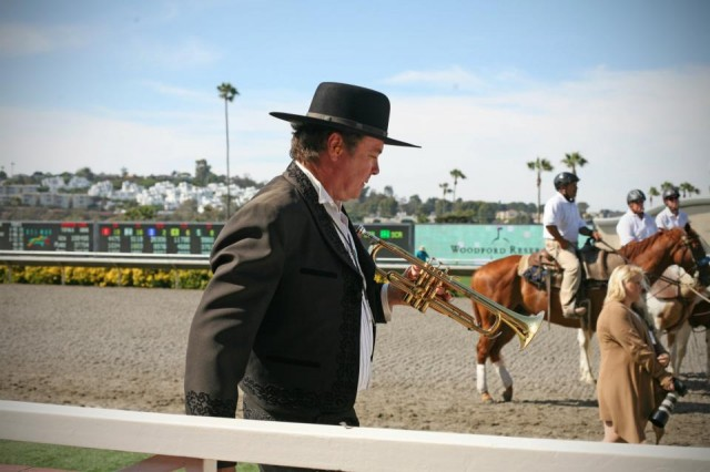 Del Mar Races Trumpeter