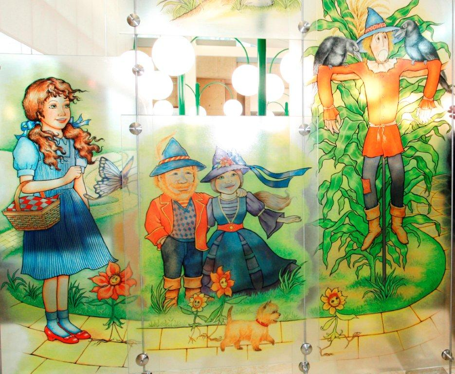 Wizard of Oz art exhibit at Coronado Public Library