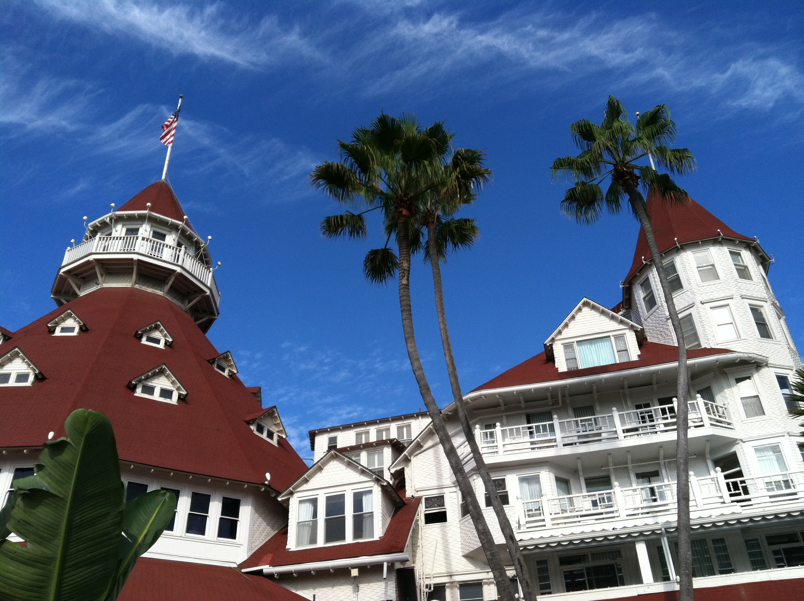 Hotel del Coronado, inspiration for the Emerald City!