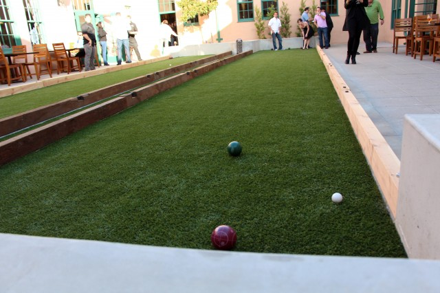 Stone Brewing World Bistro & Gardens - Bocce Ball