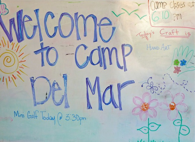 Camp Del Mar at the Del Mar Racetrack