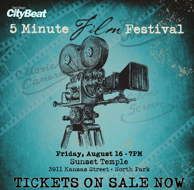 CityBeat 5 Minute Film Festival