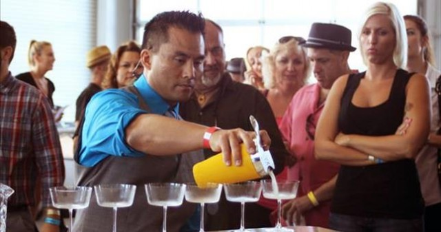 Bartender Mike Yen - San Diego Spirits Festival