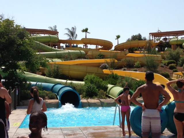 Waterslides - Aquatica San Diego