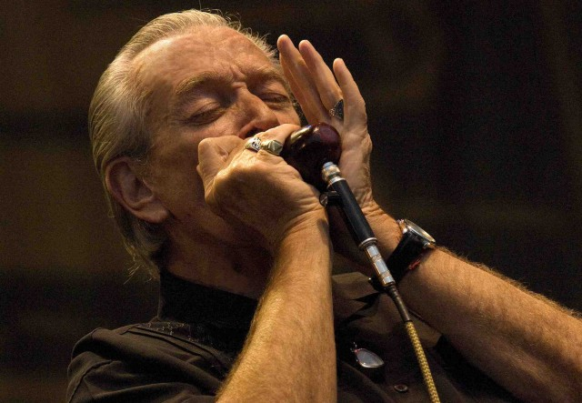 Charlie Musselwhite at the San Diego Blues Festival