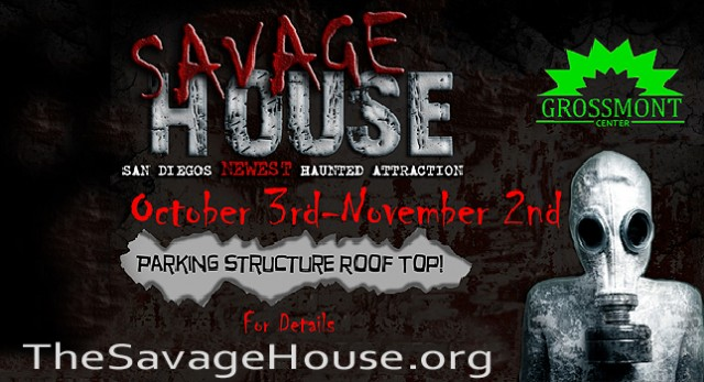 The Savage House - San Diego Haunted Houses