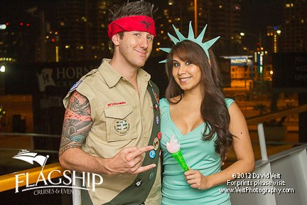 San Diego Flagship Cruises and Events Haunted Halloween Dinner Party Cruise 2013