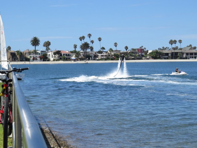 Soaring Above Mission Bay with Jetpack America