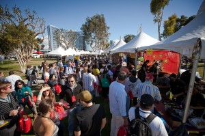 Grand Tasting San Diego Bay Wine and Food Festival 2013